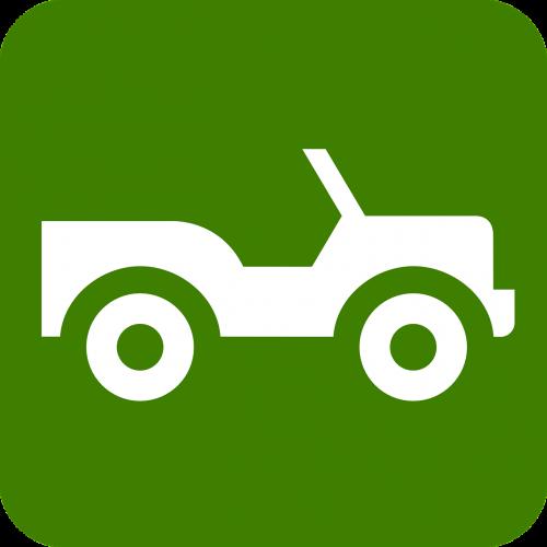 Jeep,ženklas,simbolis,keturių ratų pavara,netolygus,neapsaugotas,kelias,reljefas,automobilis,buggy,vairuoti,off-road,purvas,purvas,4x4,nemokama vektorinė grafika