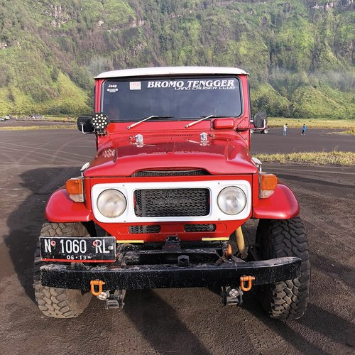 jeep  ride  mount bromo