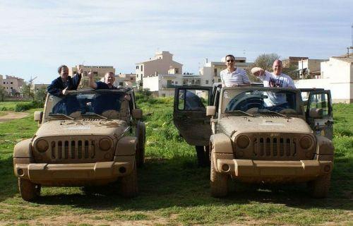 jeep dirt terrain