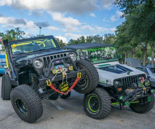 jeeps big wheels halloween