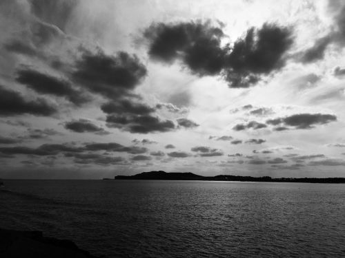 jeju island sea sky