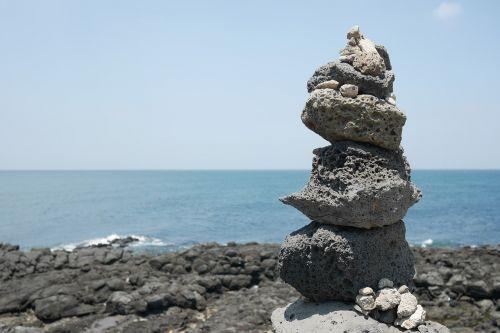 jeju island landscape sea