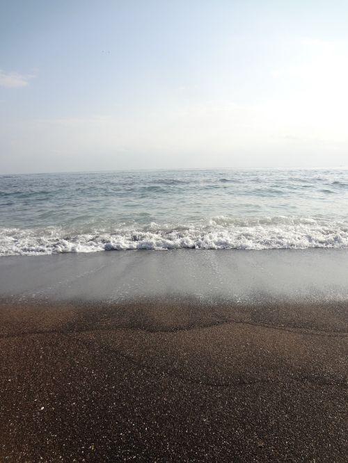 jeju island sea winter sea