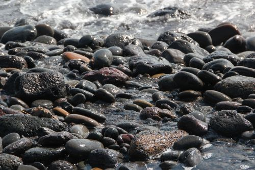 jeju island beach waves