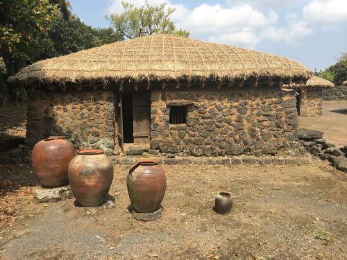 jeju island traditional house traditional houses