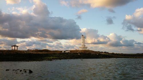 jeju island lighthouse jeju sea