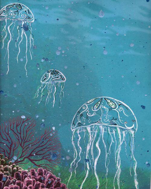 jelly fish ocean jelly