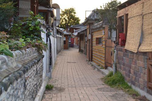 jeonju hanok village side streets