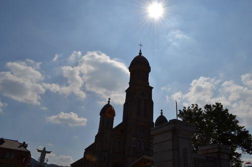 jeonju cathedral hanok village