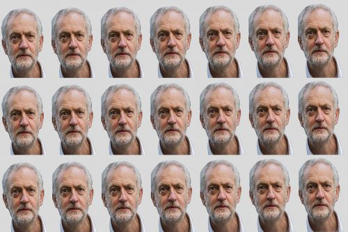 jeremy corbyn background texture