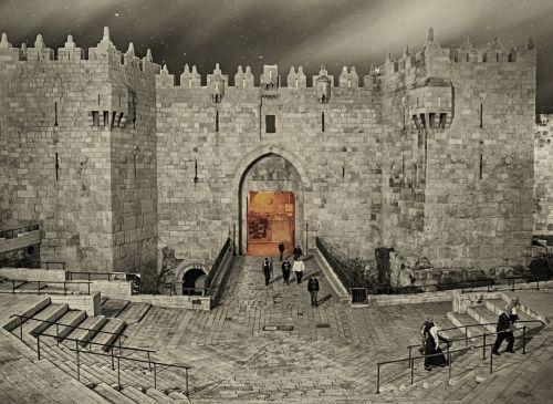 jerusalem damašská gateway gateway