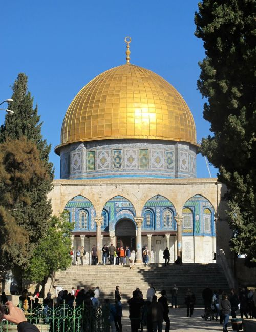 jerusalem israel dome of the rock