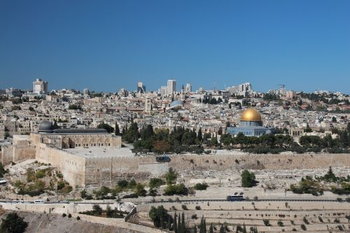 jerusalem old town city wall