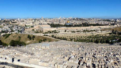 jerusalem panorama old town