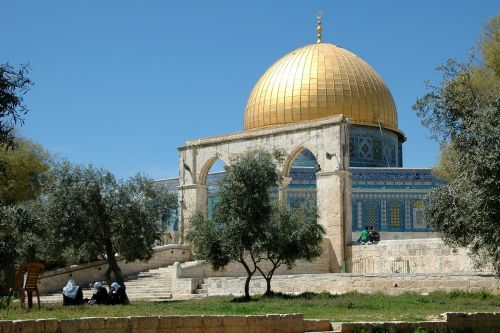 jerusalem dome of the rock israel