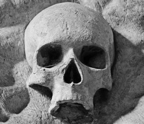 jerusalem church skull bruges