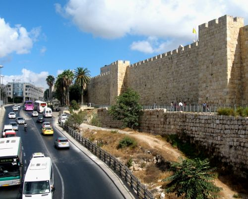 Jerusalem Old City And New