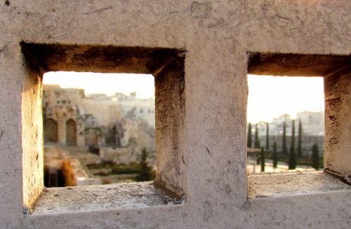 Jerusalem Old City Sunrise