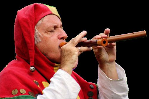 jester musician flautist