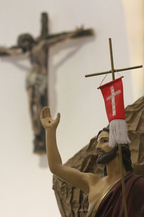 jesus resurrection cross