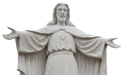 jesus statue sculpture