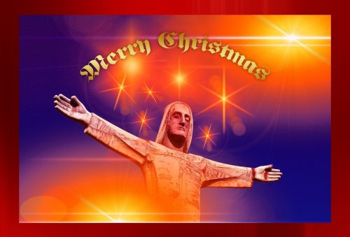 jesus statue christmas
