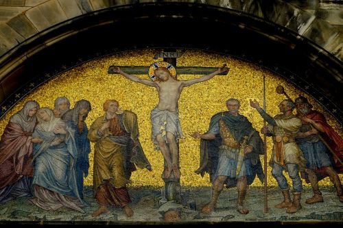 jesus crucifixion image jesus
