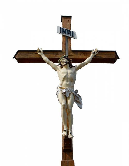 Jesus On Wooden Cross