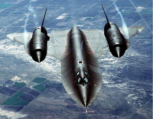 jet sr 71 reconnaissance
