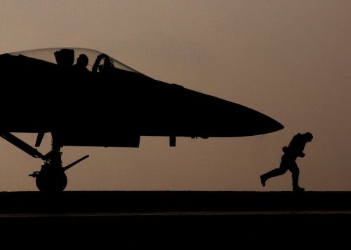 jet military silhouette
