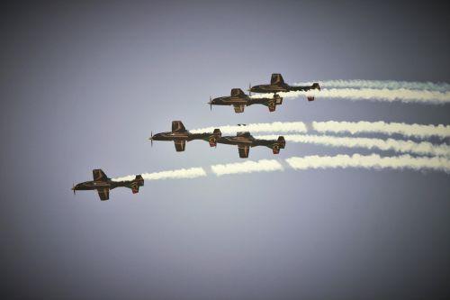 Jet Aircraft Display