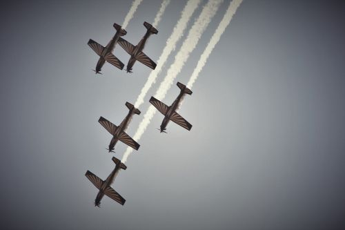 Jet Aircraft Formation
