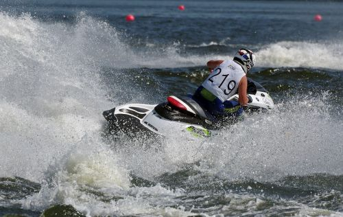 jet boat water sports racing