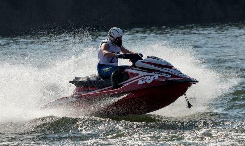 jet ski jetski race motor boat race