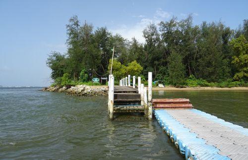 jetty pier walkway