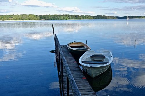 jetty boats tranquility