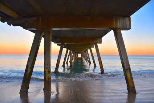 jetty beach pier