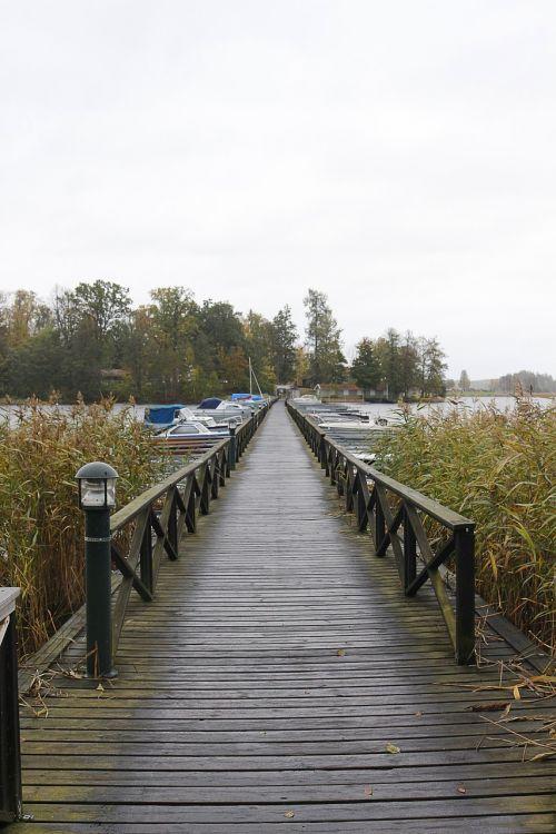 jetty wood boardwalk