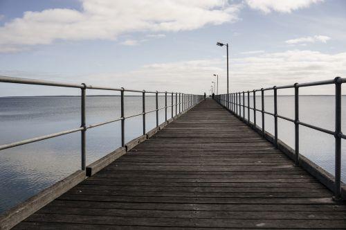 jetty pier wooden