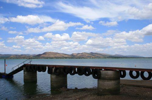Jetty On Dam