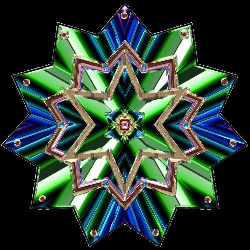 jewel star design