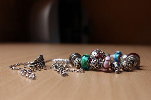 jewellery charm bracelet ring