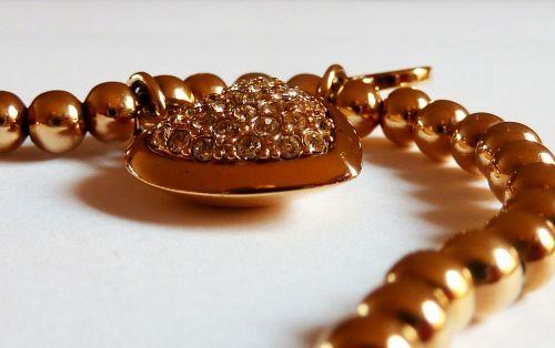 jewellery chain heart
