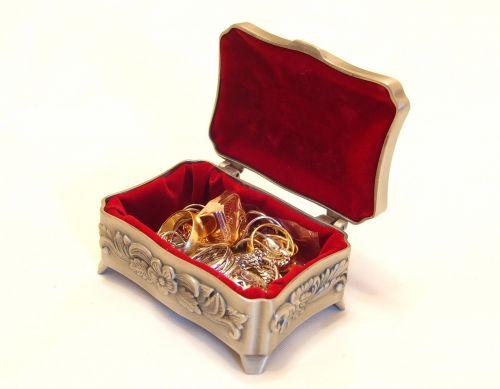 jewellery casket treasure chest