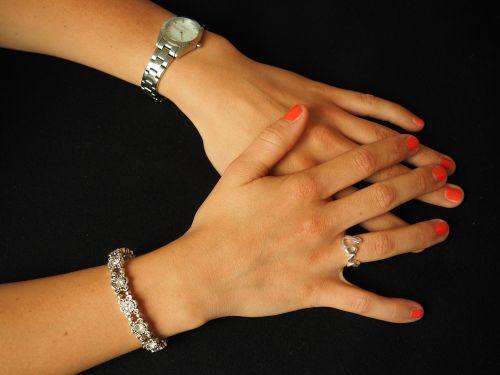 jewellery clock ring
