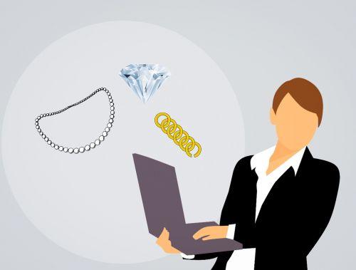 jewelry necklace diamond