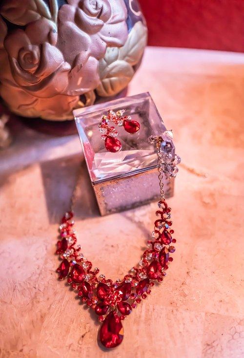 jewelry  ruby necklace  rubies