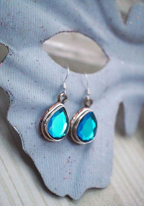 jewelry aqua blue