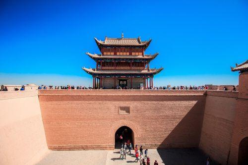 jiayuguan city gate tower city gate