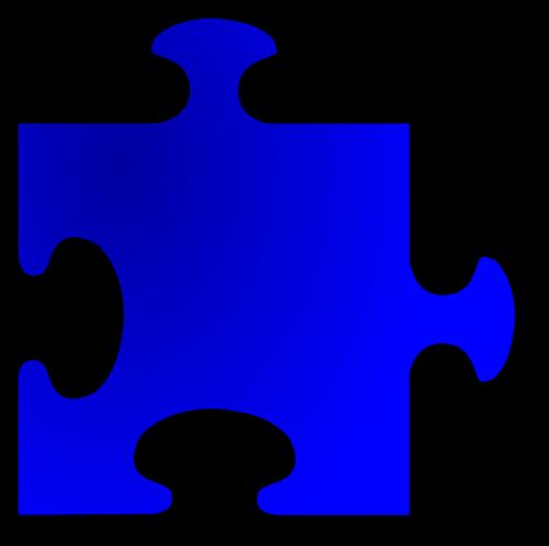 jigsaw shape piece